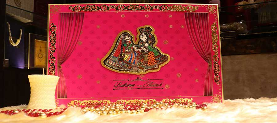 Unique & attractive Designs of Hindu Wedding Card is here