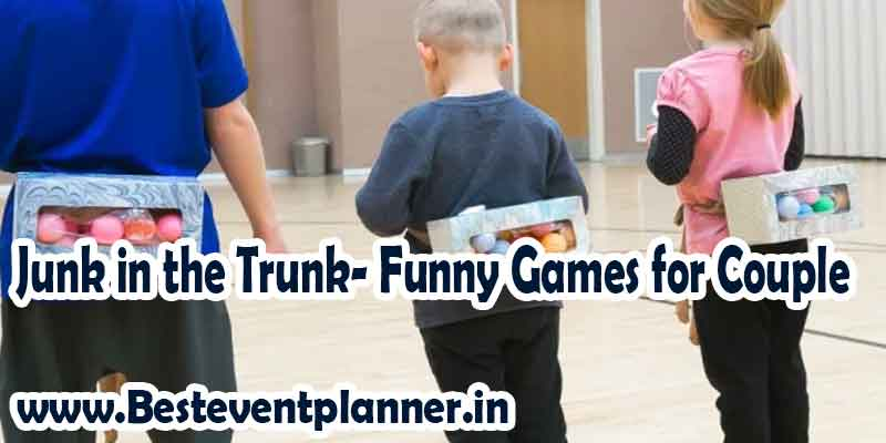 Junk in the Trunk game funny couple games