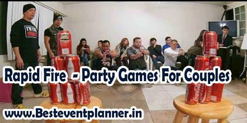rapid fire party games for couple