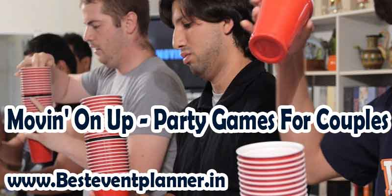 Movin' On Up party games for couples