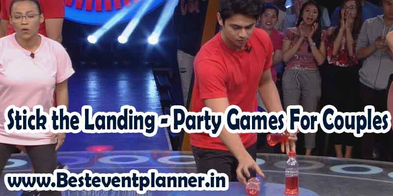 stick the Landing games for couple party