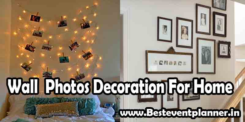 photo decoration for home