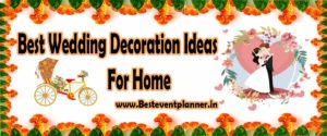 wedding decoration ideas for home