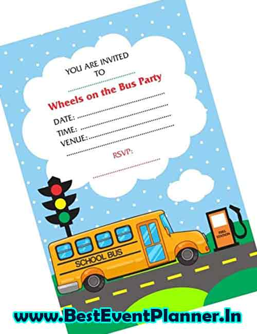 schooling kitty party invitation idea