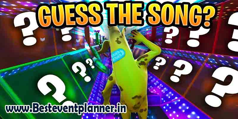 Guess the song-kitty party game ideas