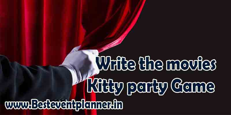 Write the movies-kitty