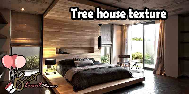 Treehouse bedroom idea for couples
