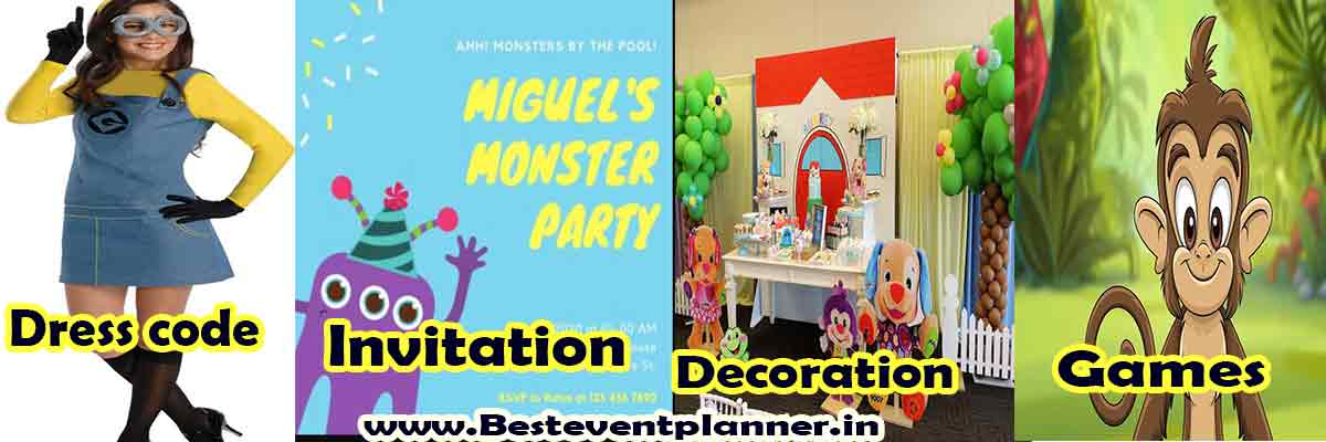 Cartoon Lover kitty party theme