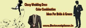 dress combination ideas for bride and groom