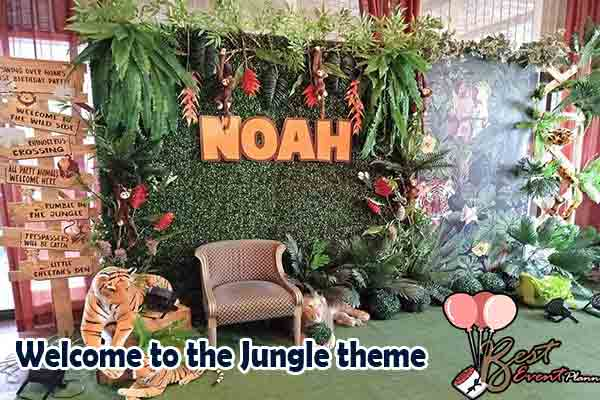 Welcome to the Jungle sangeet theme ideas