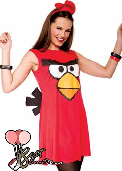 Angry Birds dress