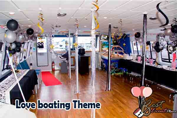 Love boating theme