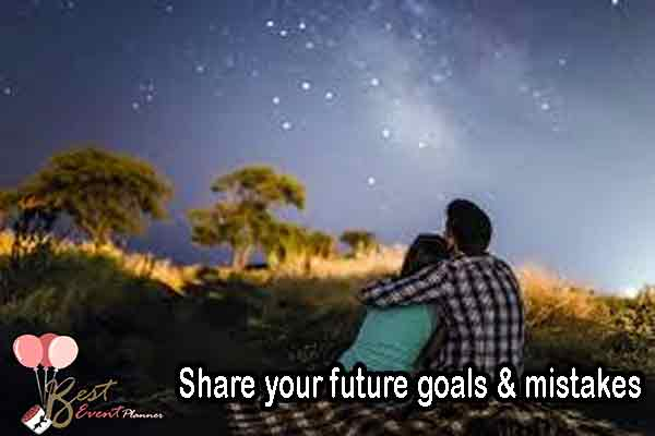 Share your future goals on your ceremony