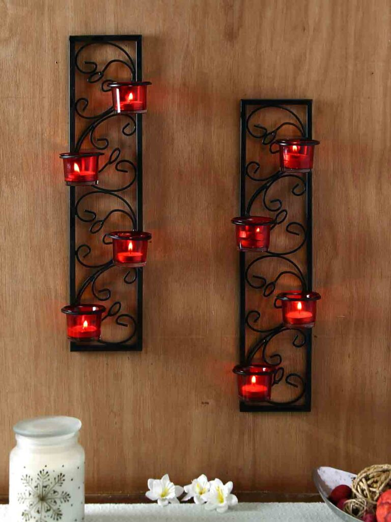 Decorating Wall Candle Holder - Housewarming gift ideas