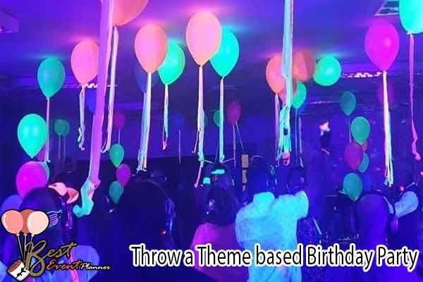Theme-based Birthday Party