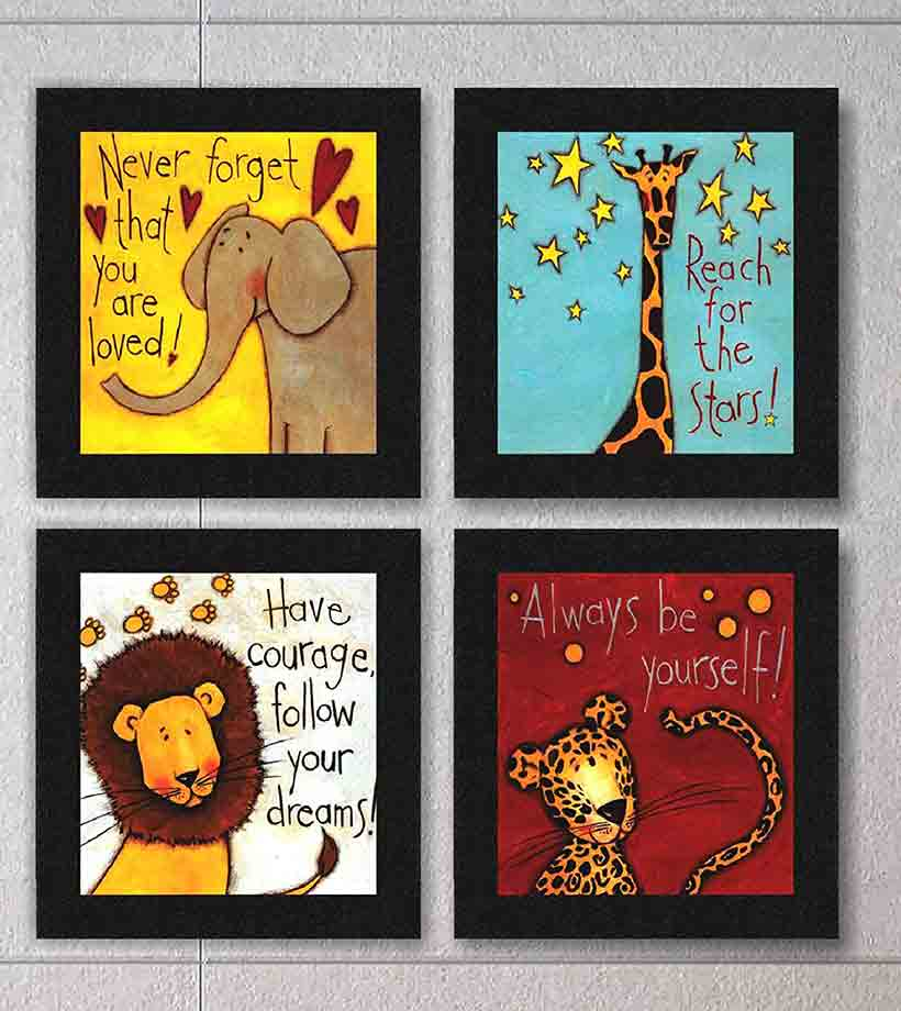 Creative Quote Door Signs - Gift ideas for indian housewarming ceremony
