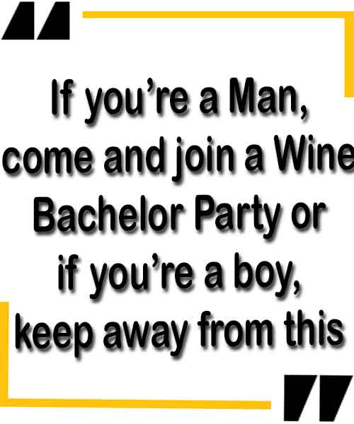 Wordings for bachelor party inviting
