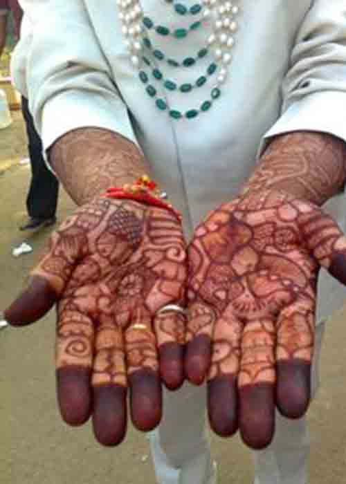 Full Hand & Arms Covered Mehandi
