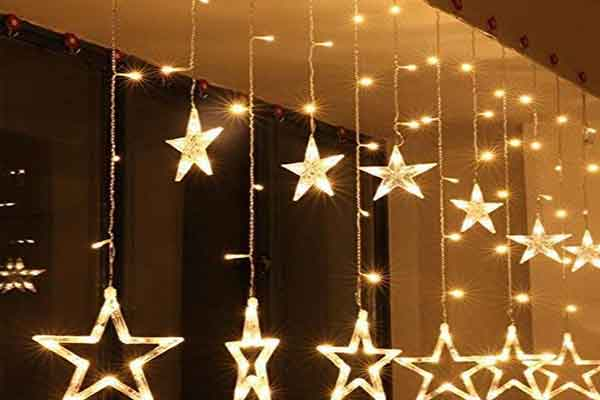 Elegant Star Lights to glow up your Decoration