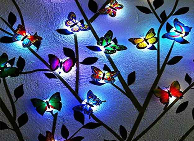LED Butterfly lights for home decoration of janmashtami