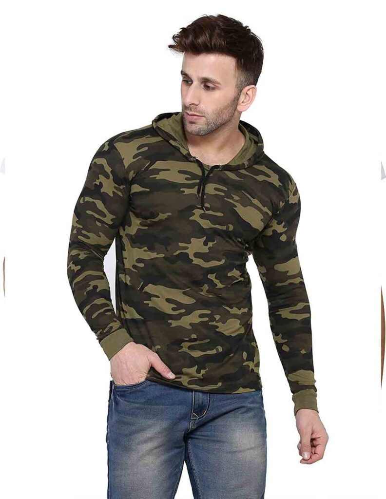 Army printed Wear - Independence Day dress code ideas
