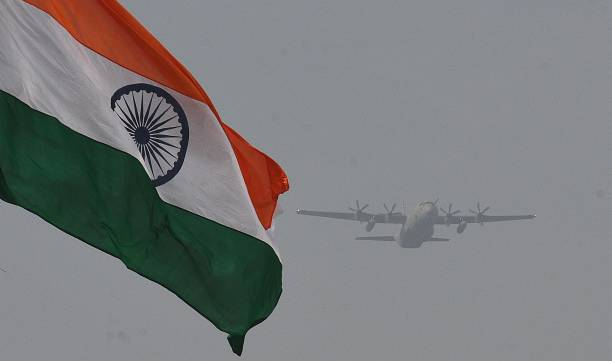 air force with flag image