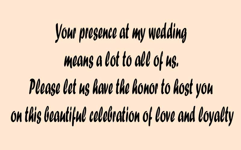 indian wedding invitation message for friends