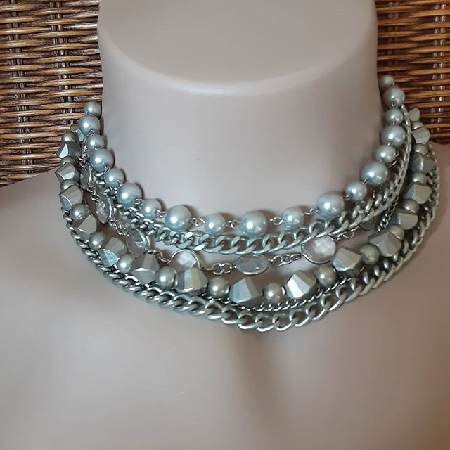 silver bells necklace