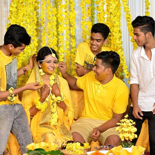 best images of haldi function