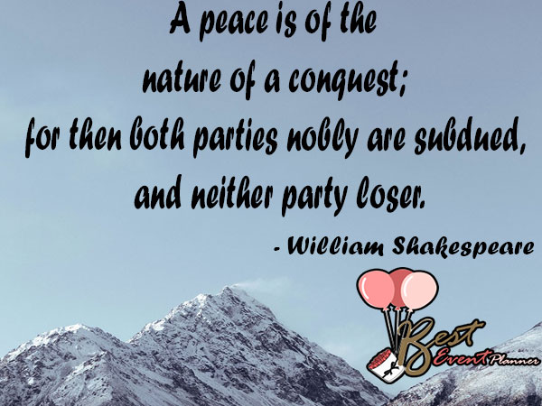 peace day slogans