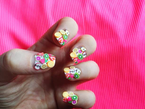 fruit nail art design images