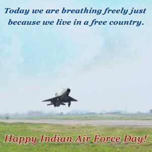30+ Salute to Indian Air Force (IAF) Day Quotes, Wishes, Images & Slogans