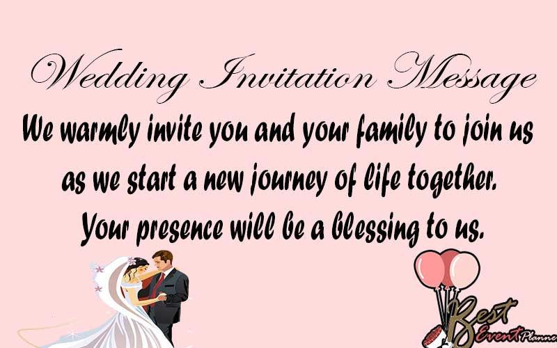 30+ Indian wedding invitation Message for friends on WhatsApp