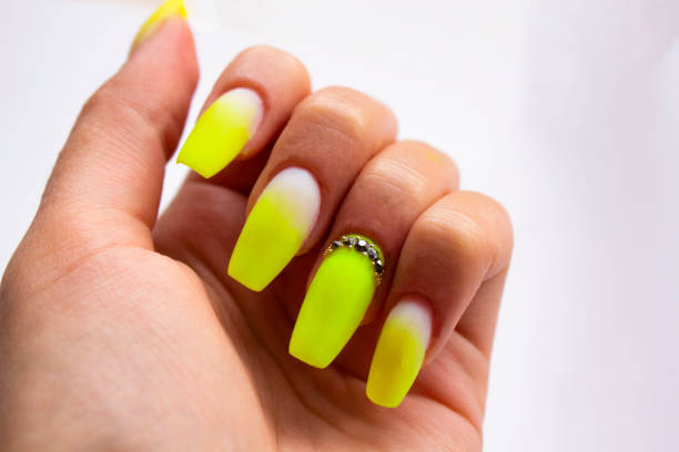 lovely colored nail art images