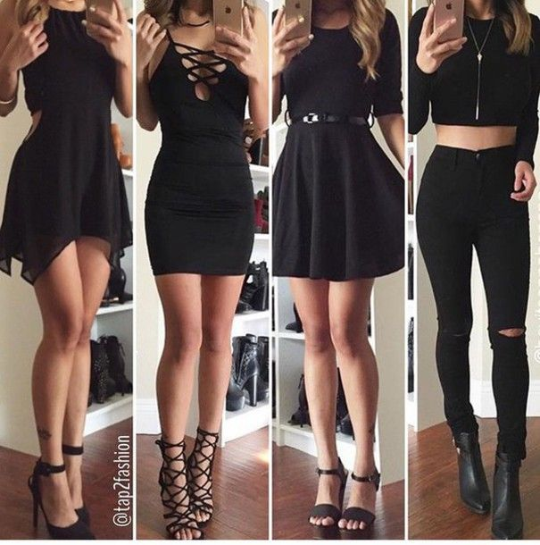 outfit ideas - fresher party idea