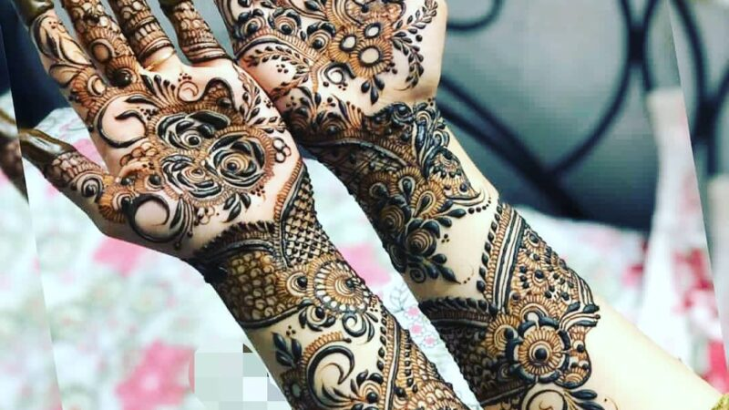 40 Full Hand Mehndi Designs for Bride or Dulhan