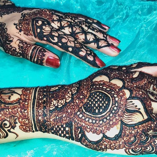 full arms bridal mehndi designs
