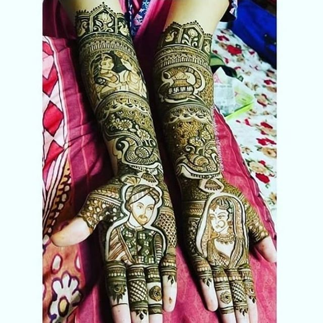 bridal hand mehndi designs images 2020
