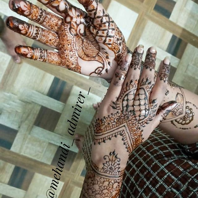 bride mehndi design full hands