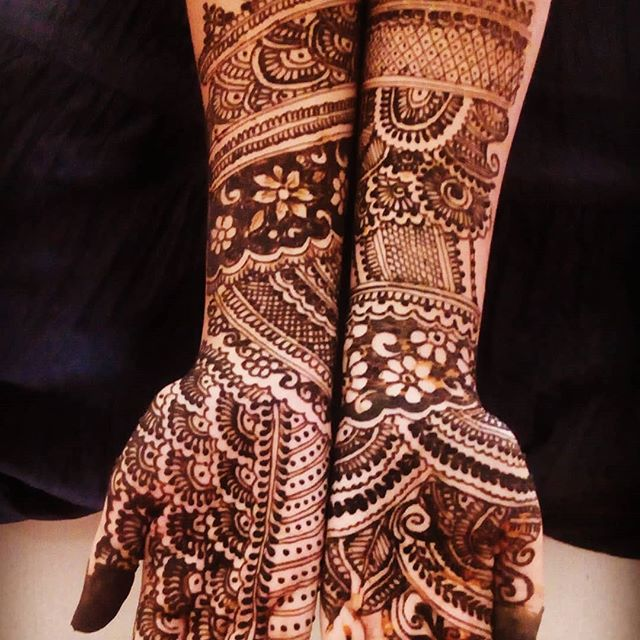 bridal mehndi designs images latest
