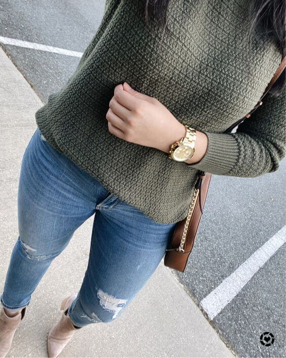 Casual Fall Outfit - fresher party outfit