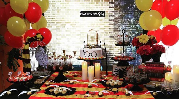 Harry Potter Theme - fresher party theme idea