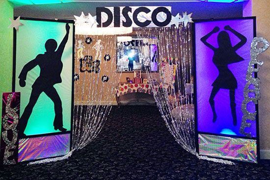 Disco Inferno freshers party theme
