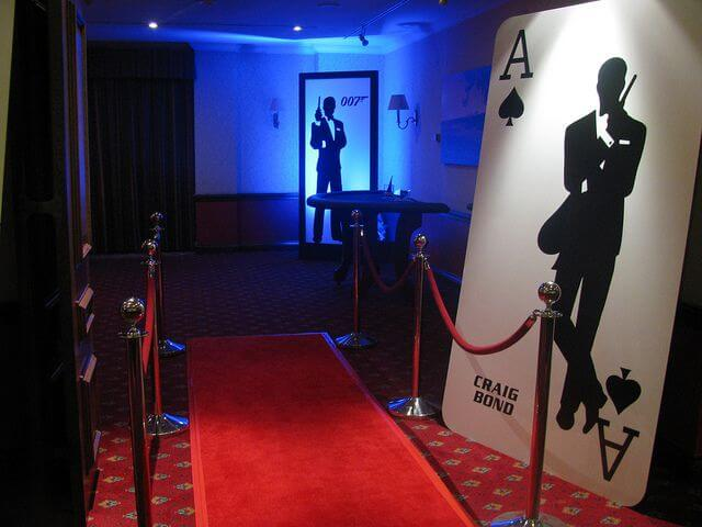 James Bond 007 fresher party theme ideas