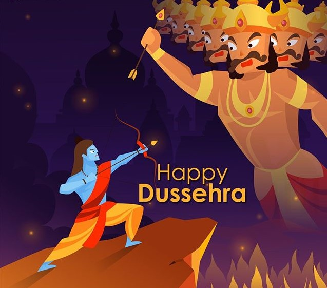 happy dussehra greetings wishes