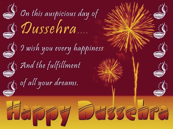 happy dussehra wishes messages