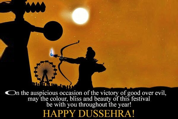 happy whatsapp wishes messages for dussehre