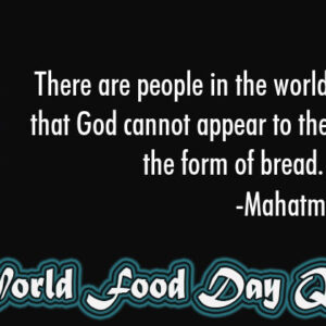 30 Happy World Food Day Quotes, Images & Slogans 2020
